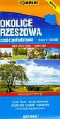Okolice Rzeszowa Część południowa Mapa turystyczna 1: 50 000