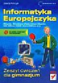 Pańczyk Jolanta - Informatyka Europejczyka Zeszyt ćwiczeń Edycja Windows Vista. Gimnazjum
