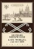 Niedźwiecki Leonard - Listy wybrane z lat 1832-1839
