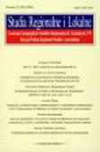 Studia Regionalne i Lokalne Numer 2 (36) 2009