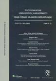 Barta Janusz (red.) - Prace z prawa własności intelektualnej. Zeszyt 3 (105) 2009