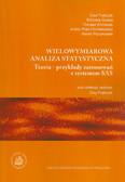 Frątczak Ewa (red.) - Wielowymiarowa analiza statystyczna. Teoria - przykłady zastosowań z systemem SAS