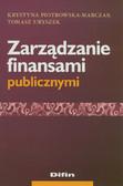 Piotrowska-Marczak Krystyna, Uryszek Tomasz - Zarządzanie finansami publicznymi