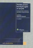 Górecki Dariusz - Polskie prawo konstytucyjne w zarysie. Podręcznik dla studentów kierunków nieprawniczych
