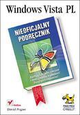 David Pogue - Windows Vista PL. Nieoficjalny podręcznik