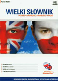Wielki słownik angielsko polski polsko angielski CD