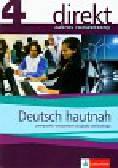 Montali Gabriella, Mandelli Daniela, Czernohous Linzi Nadja - Direkt 4 Deutsch hautnah Podręcznik z ćwiczeniami z płytą CD