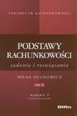 Olchowicz Irena - Podstawy rachunkowości zadania i rozwiązania Tom 2