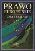 Prawo europejskie Zarys wykładu