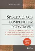 Styczyński Rafał - Spółka z oo Kompendium podatkowe