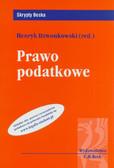 red. Dzwonkowski Henryk - Prawo podatkowe