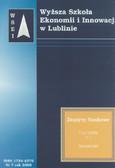 Praca zbiorowa - Zeszyty Naukowe WSEI nr 7/2008. T.1. Transport