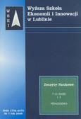 Praca zbiorowa - Zeszyty Naukowe WSEI nr 7/2008. T.3. Pedagogika