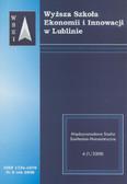 Praca zbiorowa - Zeszyty Naukowe WSEI nr 6/2008. Międzynarodowe Studia Społeczno-Humanistyczne