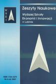 Praca zbiorowa - Zeszyty Naukowe WSEI nr 4/2007