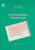 Gałązka Marek, Sadło Agnieszka - Postępowanie mandatowe
