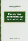 Sowiński Roman - Państwowa Administracja Gospodarcza