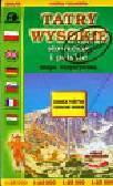 Tatry Wysokie słowackie i polskie mapa turystyczna 1: 25 000