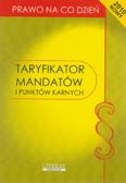 Taryfikator mandatów i punktów karnych