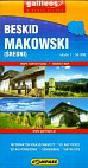 Beskid Makowski (Średni) Mapa turystyczna 1: 50 000