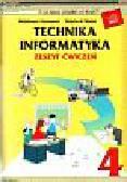 Furmanek Waldemar - Technika Informatyka 4 Zeszyt ćwiczeń