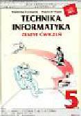 Furmanek Waldemar - Technika Informatyka 5 Zeszyt ćwiczeń. Szkoła podstawowa