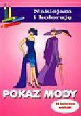 Małecki Aleksander - Pokaz mody Naklejam i koloruję 32 kolorowe naklejki