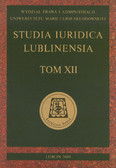 red. Kuryłowicz Marek - Studia Iuridica Lublinensia. Tom XII