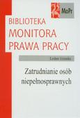 Grzonka Lesław - Zatrudnianie osób niepełnosprawnych