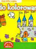 Plakaty do kolorowania Moja żółta książka