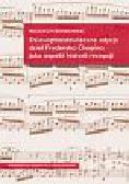 Bońkowski Wojciech - Dziewiętnastowieczne edycje dzieł Fryderyka Chopina jako aspekt historii recepcji