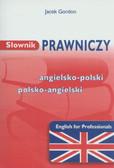 Gordon Jacek - Słownik prawniczy angielsko polski polsko angielski
