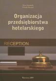 Dominik Piotr, Drogoń Witold - Organizacja przedsiębiorstwa hotelarskiego