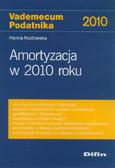 Kozłowska Hanna - Amortyzacja w 2010 roku