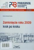 Adamek-Hyska Dorota - Poradnik rachunkowości budżetowej 1/2010. Zamknięcie roku 2009 krok po kroku