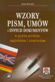Kienzler Iwona - Wzory pism, umów i innych dokumentów w języku polskim, angielskim i niemieckim (z suplementem elektronicznym)
