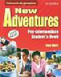 Wetz Ben - New Adventures Pre-intermediate Student`s Book. Gimnazjum