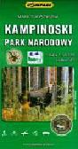 Kampinoski Park Narodowy mapa turystyczna