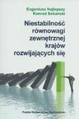 Najlepszy Eugeniusz, Sobański Konrad - Niestabilność równowagi zewnętrznej krajów rozwijających się