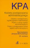 wpr. Borkowski Janusz - Kodeks postępowania administracyjnego i inne teksty prawne