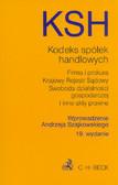 wpr. Szajkowski Andrzej - Kodeks spółek handlowych i inne teksty prawne
