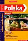 Polska atlas samochodowy z płytą CD
