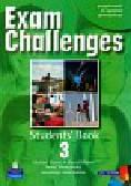 Harris Michael, Mower David, Sikorzyńska Anna - Exam Challenges 3 Students` Book with CD