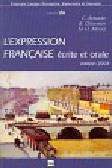 Expression Francaise ecrite et orale Podręcznik