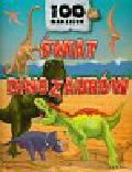 Świat dinozaurów Książeczka z naklejkami