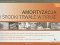 Garbacik Halina - Amortyzacja i środki trwałe w firmie