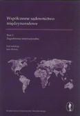 Współczesne sądownictwo międzynarodowe tom 1. Zagadnienia instytucjonalne