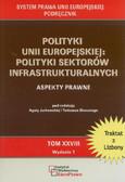 red. Jurkowska Agata, red. Skoczny Tadeusz - Polityki Unii Europejskiej: polityki sektorów infrastrukturalnych. Aspekty prawne. Tom XXVIII