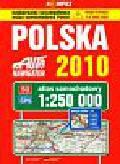 Polska 2010 atlas samochodowy 1:250 000