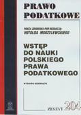 red. Modzelewski Witold - Wstęp do nauki polskiego prawa podatkowego